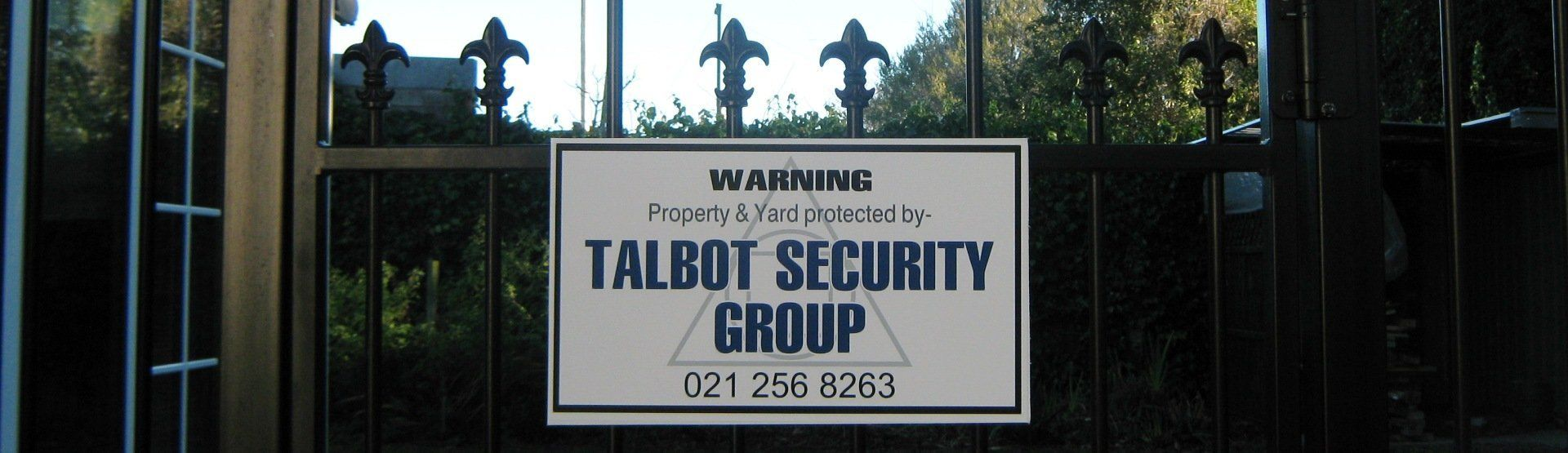 Residential Security Alarms - Talbot Security Group Canterbury